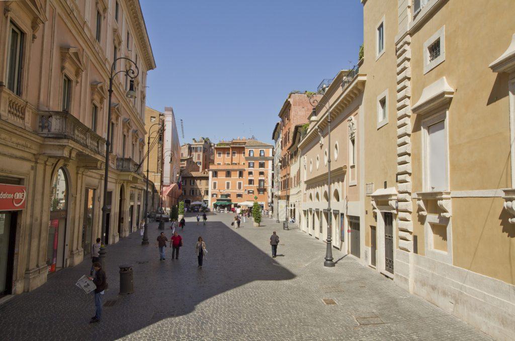 Via del Corso, Roma, Lazio, Italia