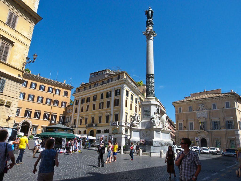 Propaganda-Fide- Piazza-Mignanelli-Roma