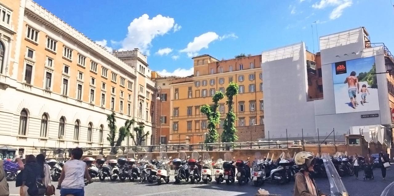 Piazza del parlamento urban vision for Sede parlamento roma