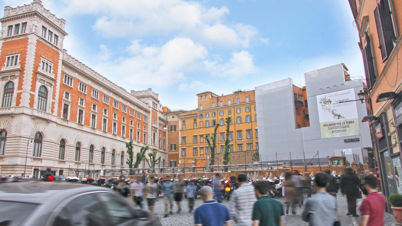 Piazza del parlamento urban vision for Rassegna stampa parlamento