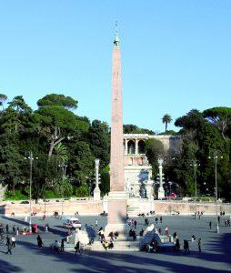 Obelisco - Piazza del Popolo Roma 1
