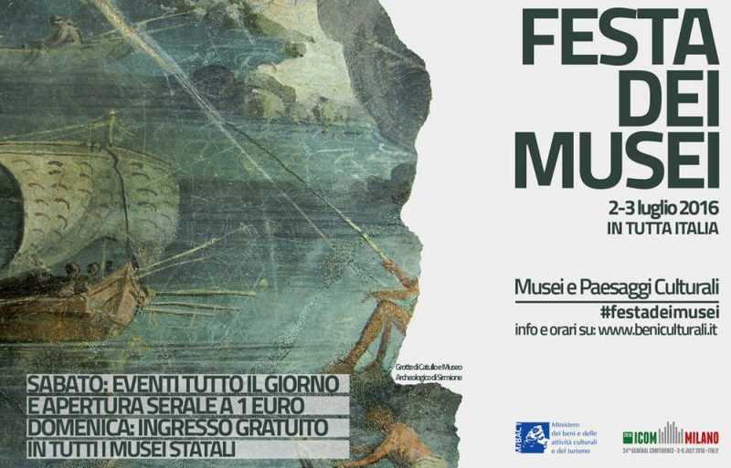 Festa-dei-Musei-2-3-luglio-2016-Logo-MiBACT