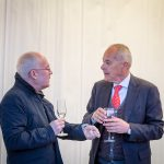 I mecenati premiati Daniele Di Loreto (Assicurazioni Generali) e  Fabrizio Fragola
