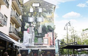 Gucci Bloom Art Wall Milano
