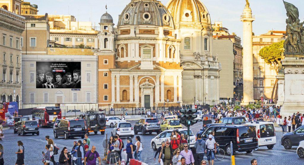 ROMA - PIAZZA VENEZIA - MADONNA DI LORETO