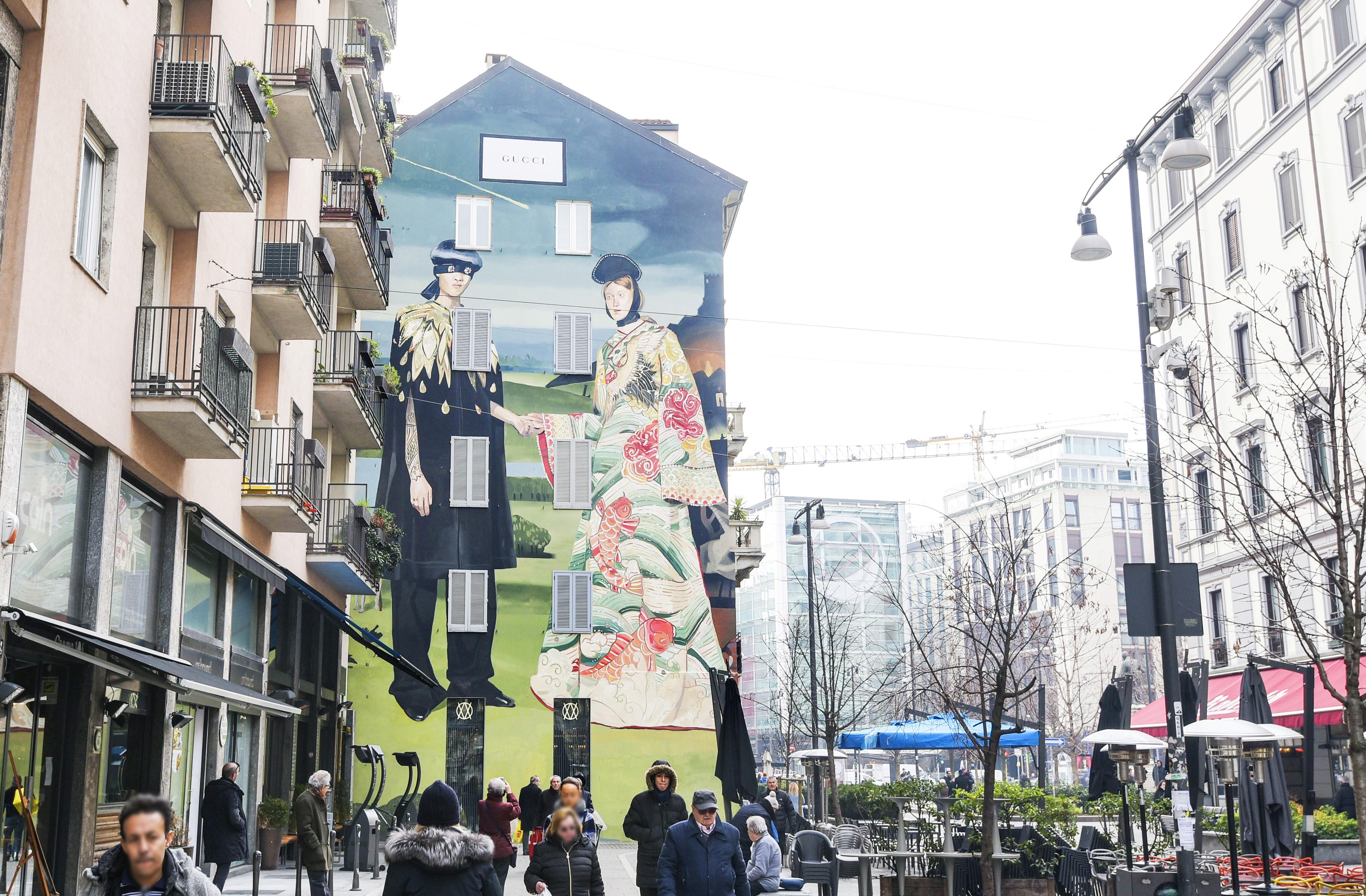 Gucci Art Wall_ Ignasi Monreal